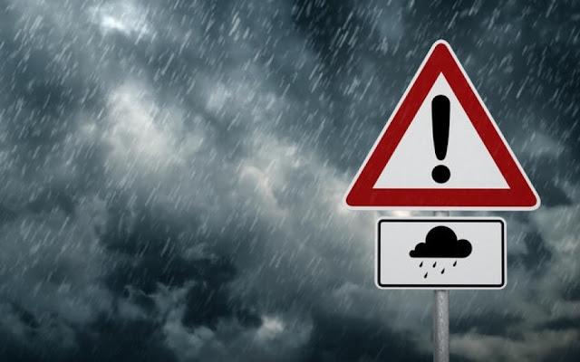 Έκτακτο δελτίο επιδείνωσης του καιρού με ισχυρές βροχοπτώσεις - Πού θα είναι έντονα φαινόμενα