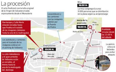 Todos los datos de la procesión Magna en Logroño por la Misión Diocesana Euntes