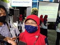BPS Ponorogo adakan Pencanangan Pembangunan zona Integritas siap menuju wilayah Bebas Korupsi (WBK)