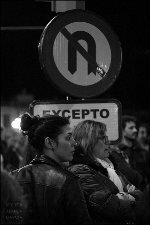 manifestación,8M,Murcia,retrato,fotografia