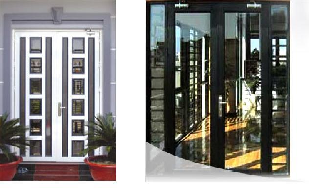 cửa sắt 2 cánh hiện đại