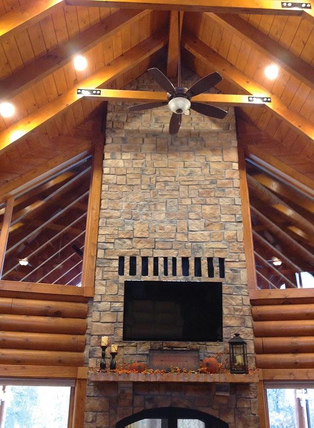 Acucraft Fireplaces: Custom See Through Wood Burning ...