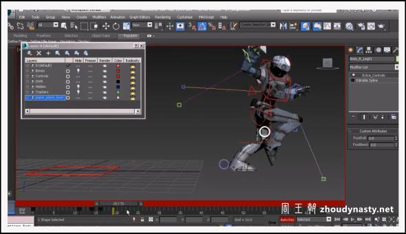Digital Tutors - Transferring Animation Between Maya and 3ds