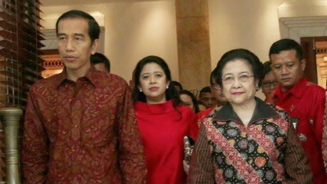 Rocky Gerung: Ada Persaingan Jokowi dengan Megawati