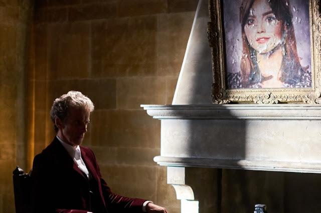 Peter Capaldi dans Descente au paradis (9.11), épisode de Dr.Who (2005-) écrit par Steven Moffat et réalisé par Rachel Talalay