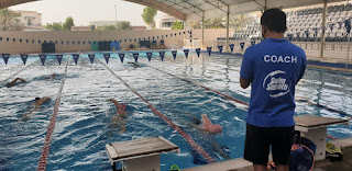 Swim Smooth Dubai's, Paolo Mangilinan is back on the pool deck