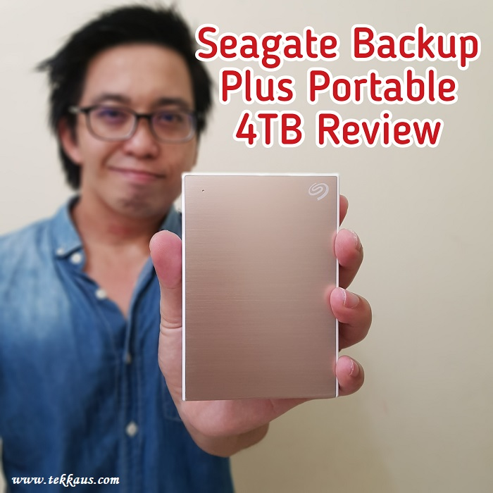 Seagate Backup Plus Portable 4TB-Honest Review