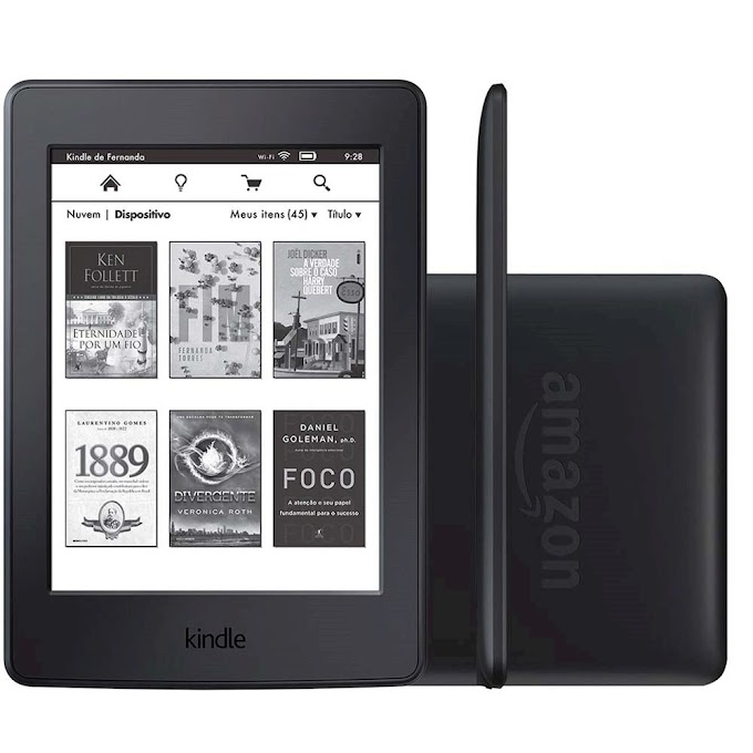 Sorteio - Ganhe um Kindle Reader da AMAZON!