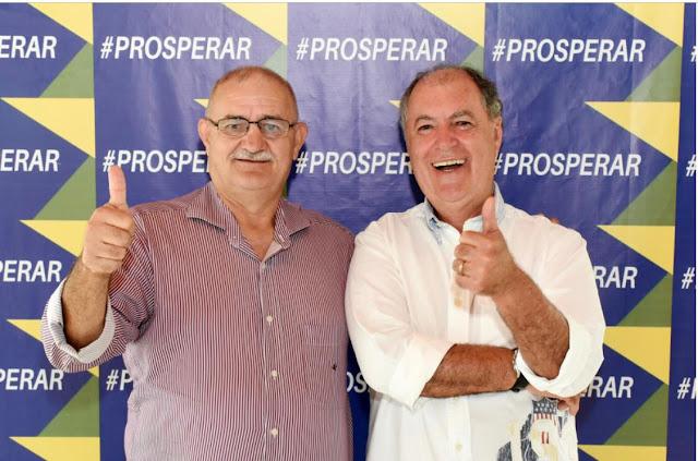 PSL antecipa convenção para 13 de setembro, e apresentará Zé Mauro Chaves como candidato a prefeito de Escada