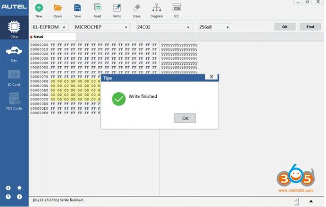 autel-XP400-write-chip-2