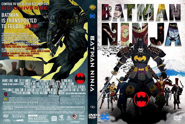Batman Ninja DVD Cover