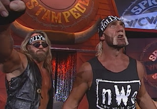 WCW Spring Stampede 1998 - Hulk Hogan & The Disciple