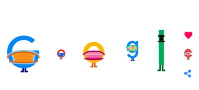 Google doodle hari ini
