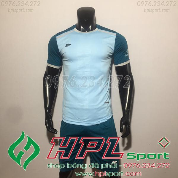 Áo bóng đá ko logo Eureka HAT TV  Màu Xanh Ngọc