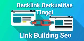 Backlink Berkualitas Tinggi