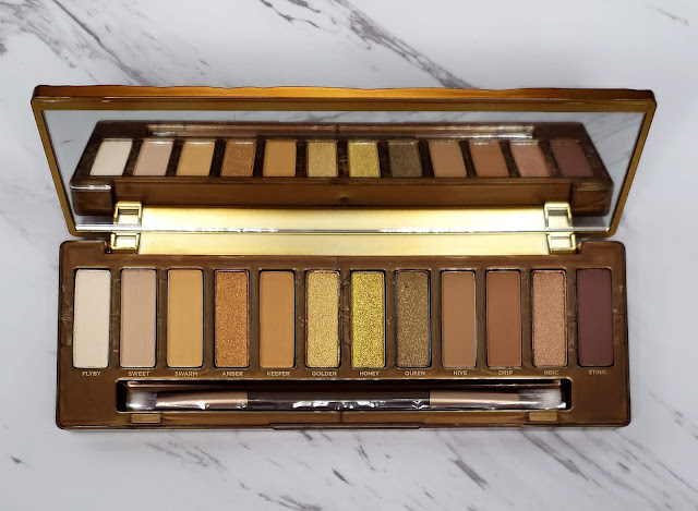 Review: Urban Decay Naked Honey Palette