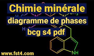 Chimie minérale 1 et diagramme de phases bcg s3 pdf