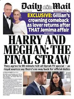 صحيفة دايلي ميل  Daily Mail