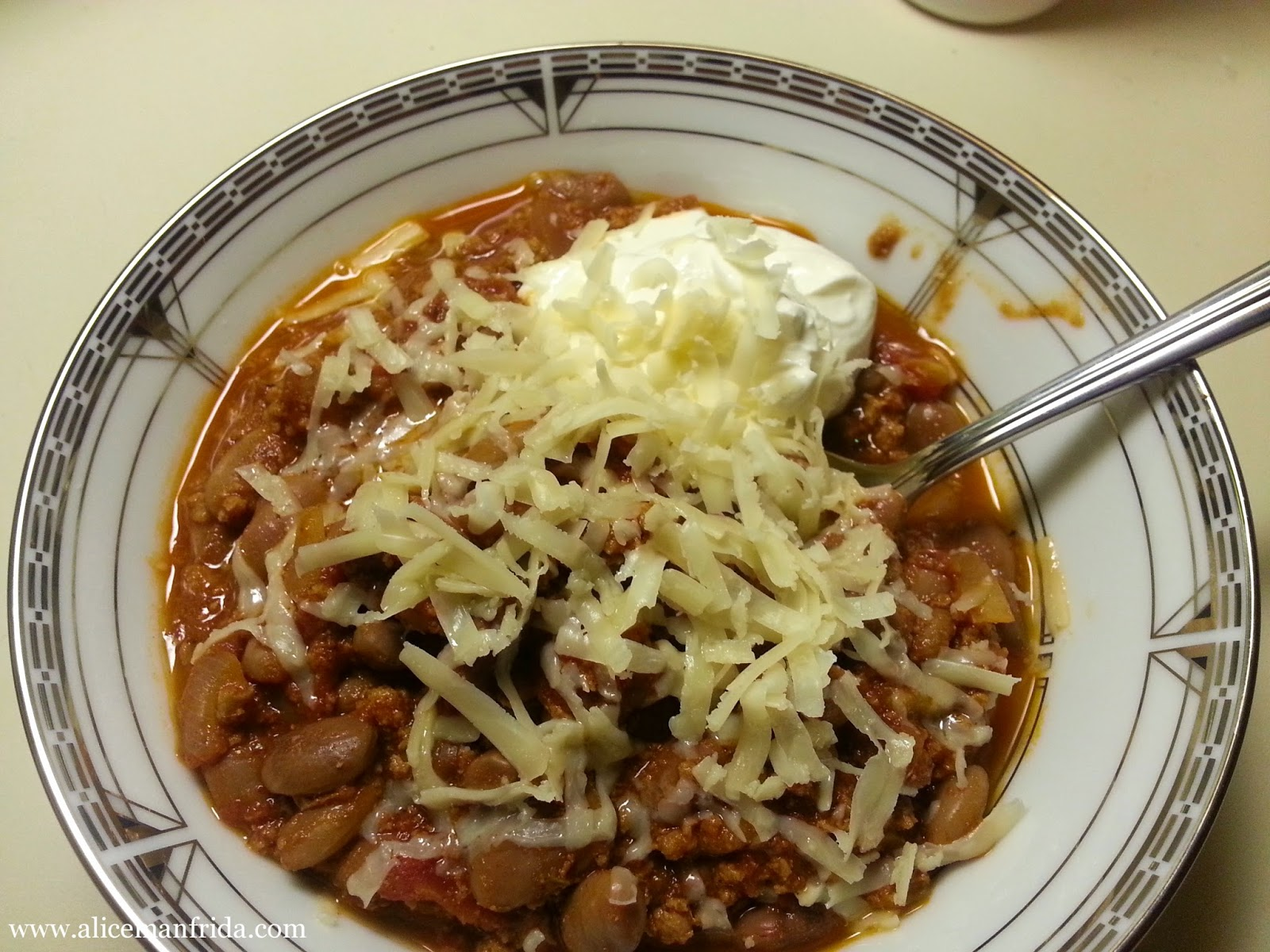 one pot meal, leftovers, chili, turkey, beans
