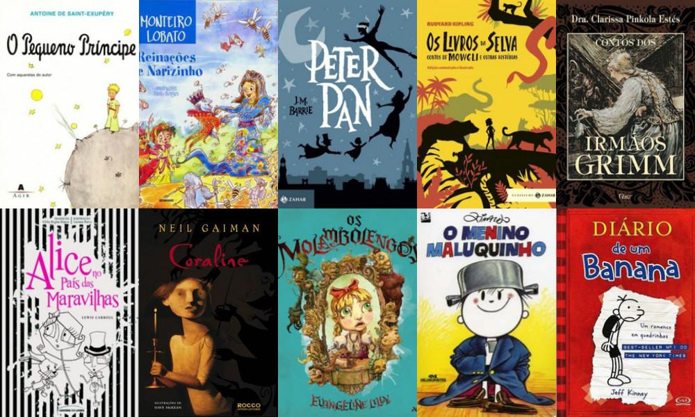 LISTA - 15 Livros Infantis que permanecem em nossos corações