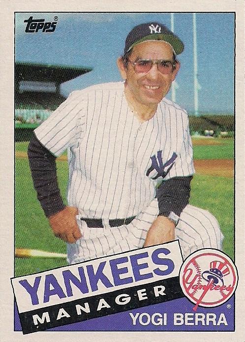 1985 Topps 155 Yogi Berra