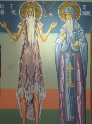 Αποτέλεσμα εικόνας για sfantul pavel tebeul si sf antonie