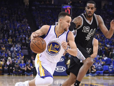 NBA : Warriors-Spurs