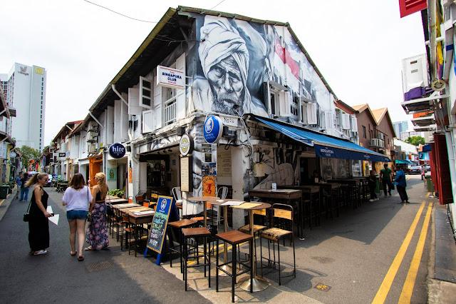 Murales Haji lane-Singapore
