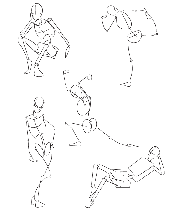 This is a graphic of Magic Figure Drawing Basics