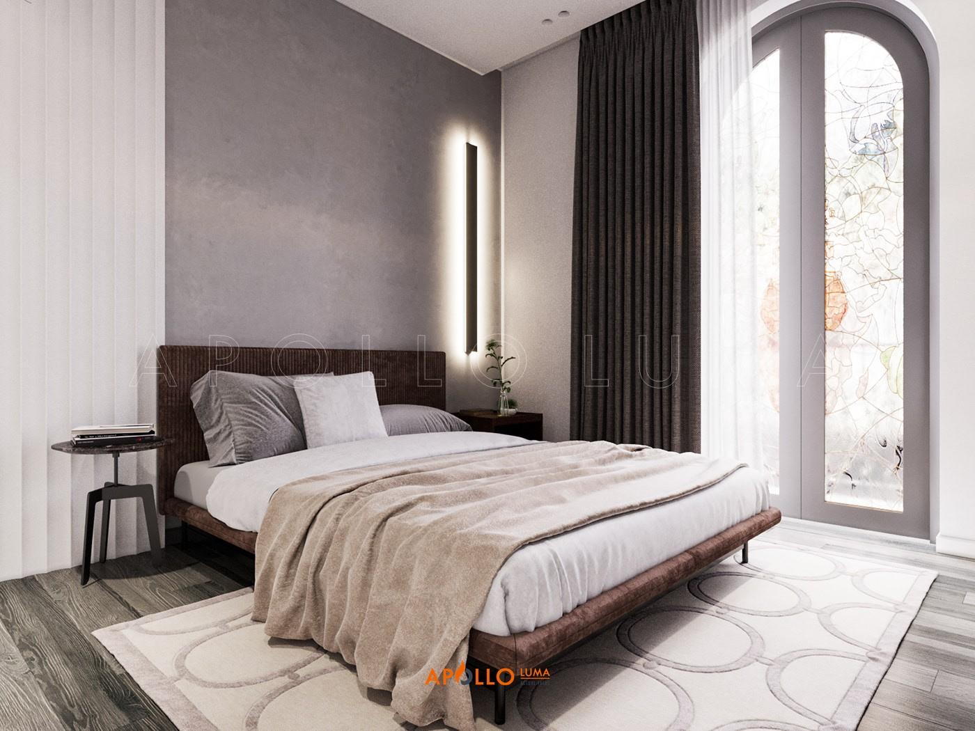 Thiết kế phòng ngủ căn biệt thự Vinhomes Ocean Park