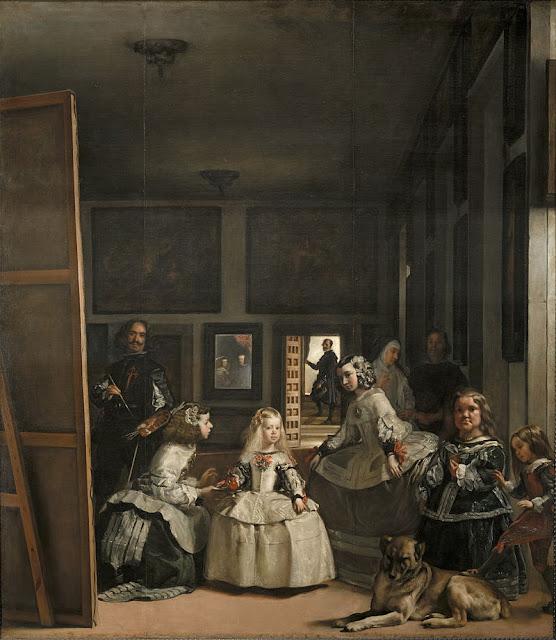 """quadro """"As Meninas"""", Velázquez, Museu do Prado, Madri"""