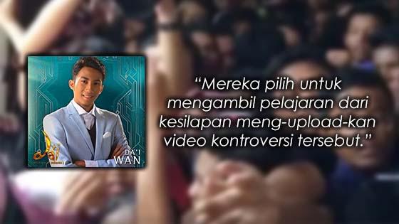 Apa Kata Fareeda Tentang Teguran Da'i Wan Dazrin
