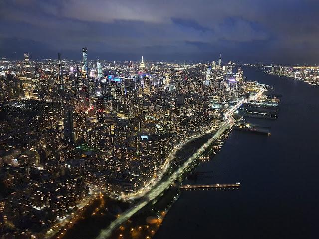 passeio de helicóptero em New York