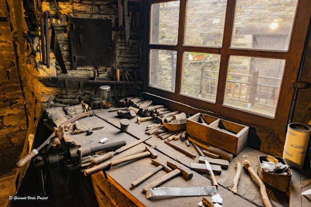 Museo de la Cuchillería (taller), Taramundi - Asturias