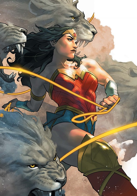 Yasmin Putri cover of Sensational Wonder Woman #1