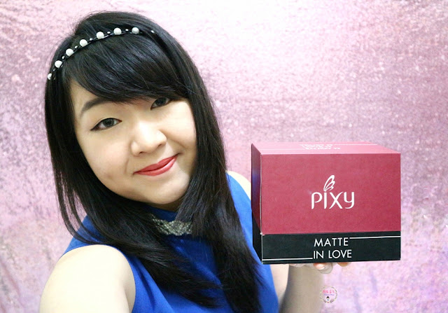 PIXY Matte in Love Lipstick Review (Swatches All Colors)