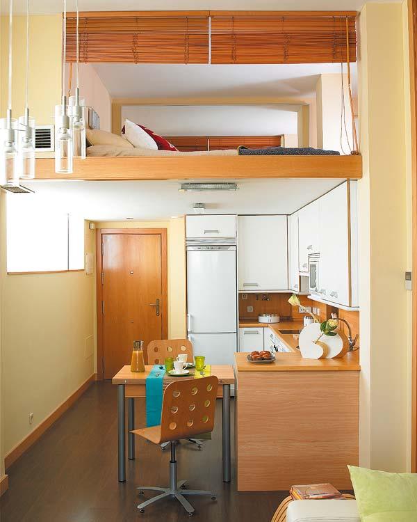 40 ideias de decora o para pequenos espa os design innova for Casa minimalista de 40 metros cuadrados