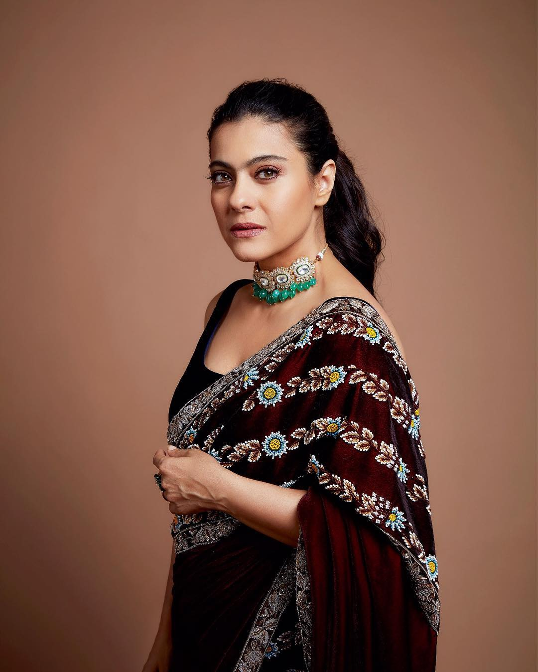 Image result for kajol devgan in saree