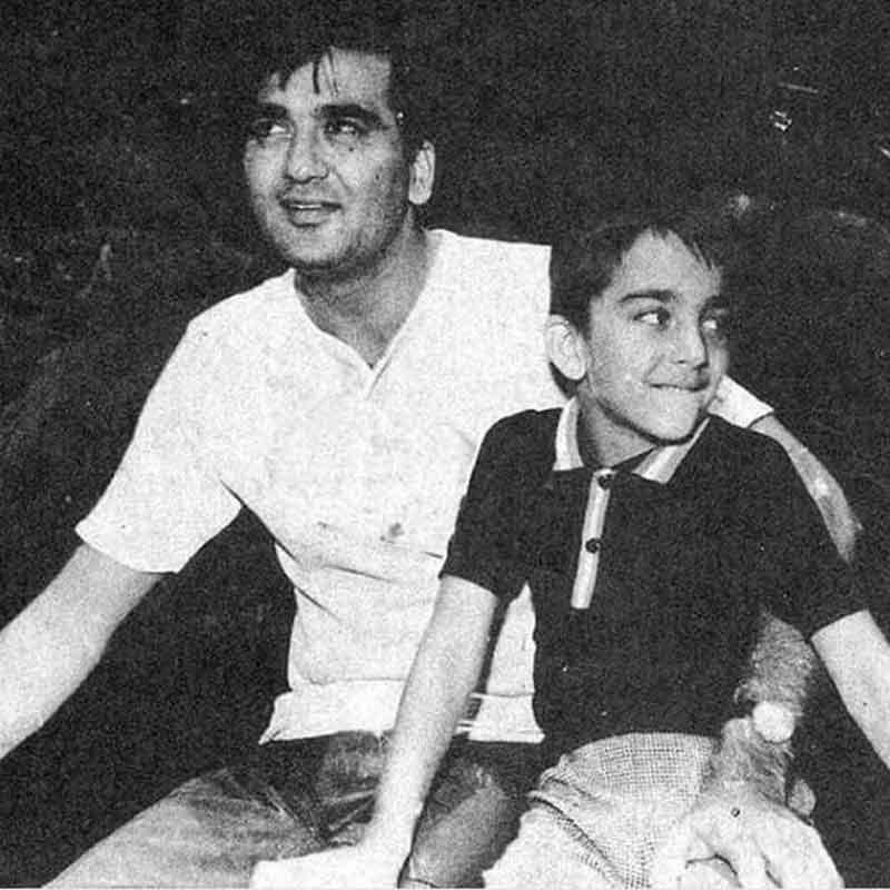संजय दत्त ने शेयर की पिता सुनील दत्त ...