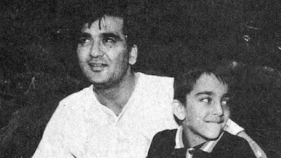 संजय दत्त ने शेयर की पिता सुनील दत्त की तस्वीर
