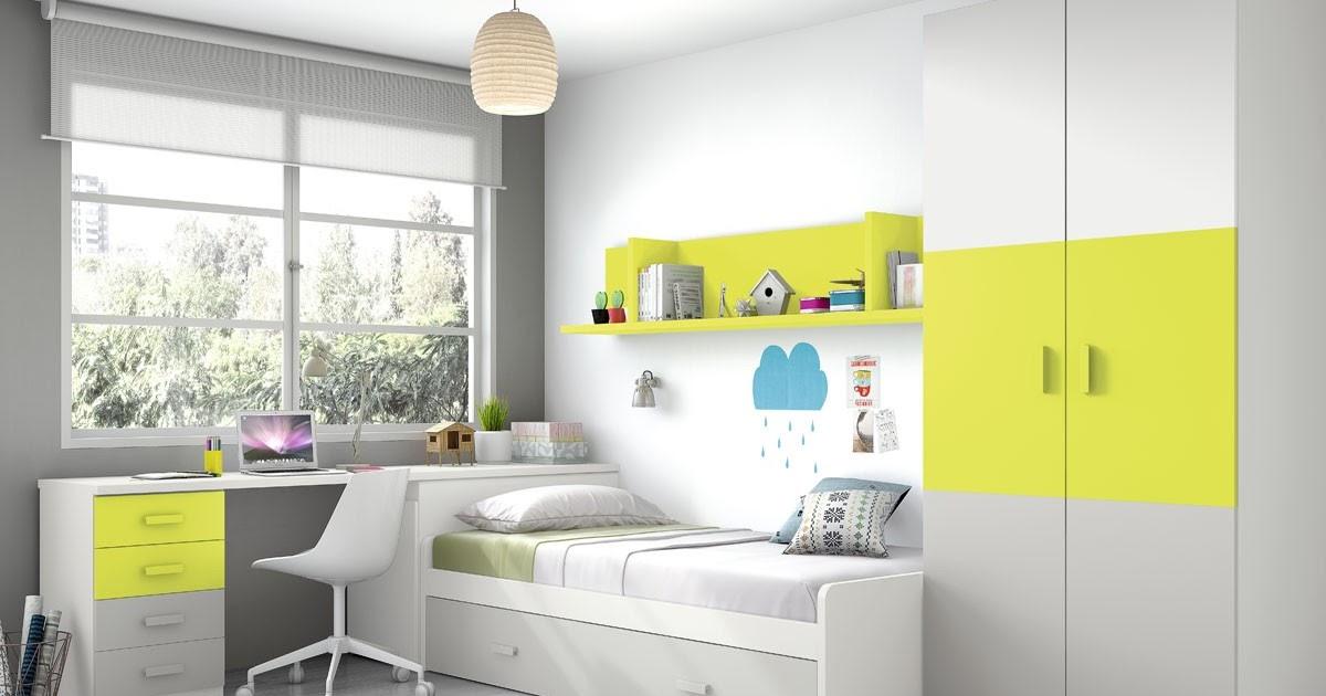 Infantil b sicos 601 con armario 889 - Dormitorios infantiles valencia ...