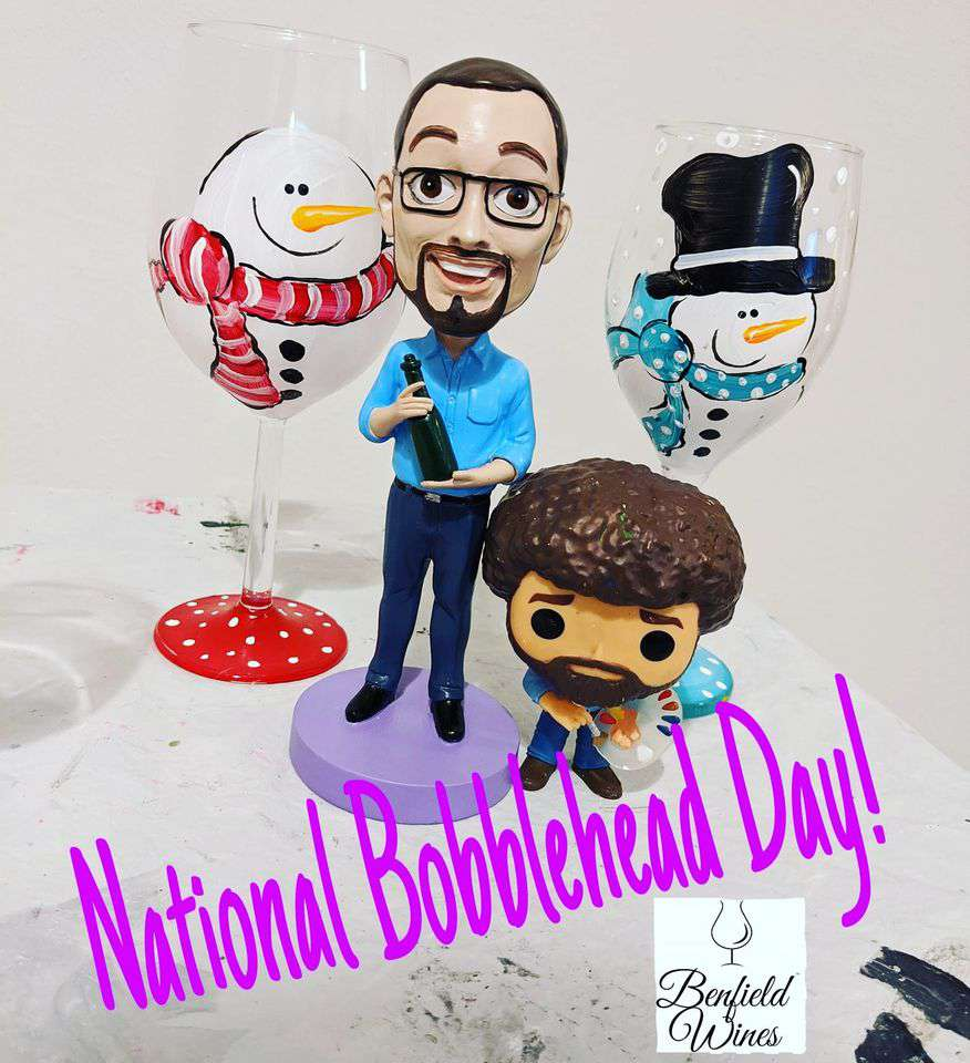 National Bobblehead Day Wishes Beautiful Image