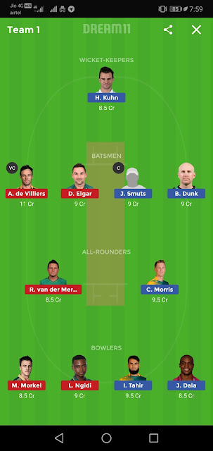 NMG vs TST Dream11 Team,Nmg vs Tst Dream11 Prediction,