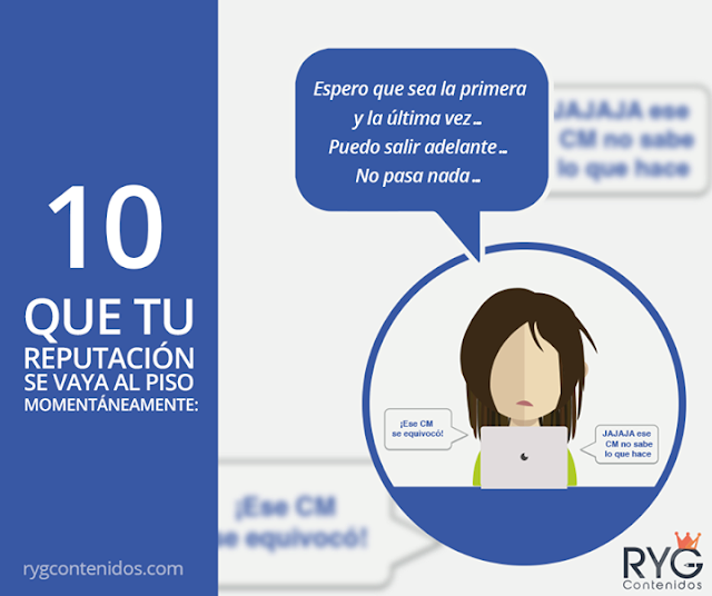 13 Pesadillas del Community Manager
