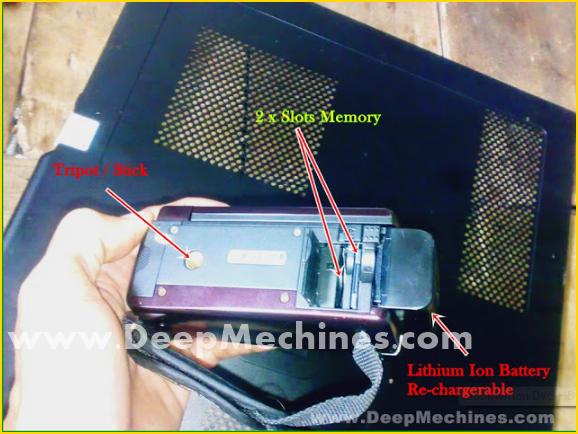 "Fitur / Fungsi Tombol / Menu DVC HD SONY 16.0MPx ""GEN X"" G800"