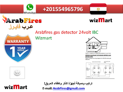 Arabfires gas detector 24volt IBC Wizmart