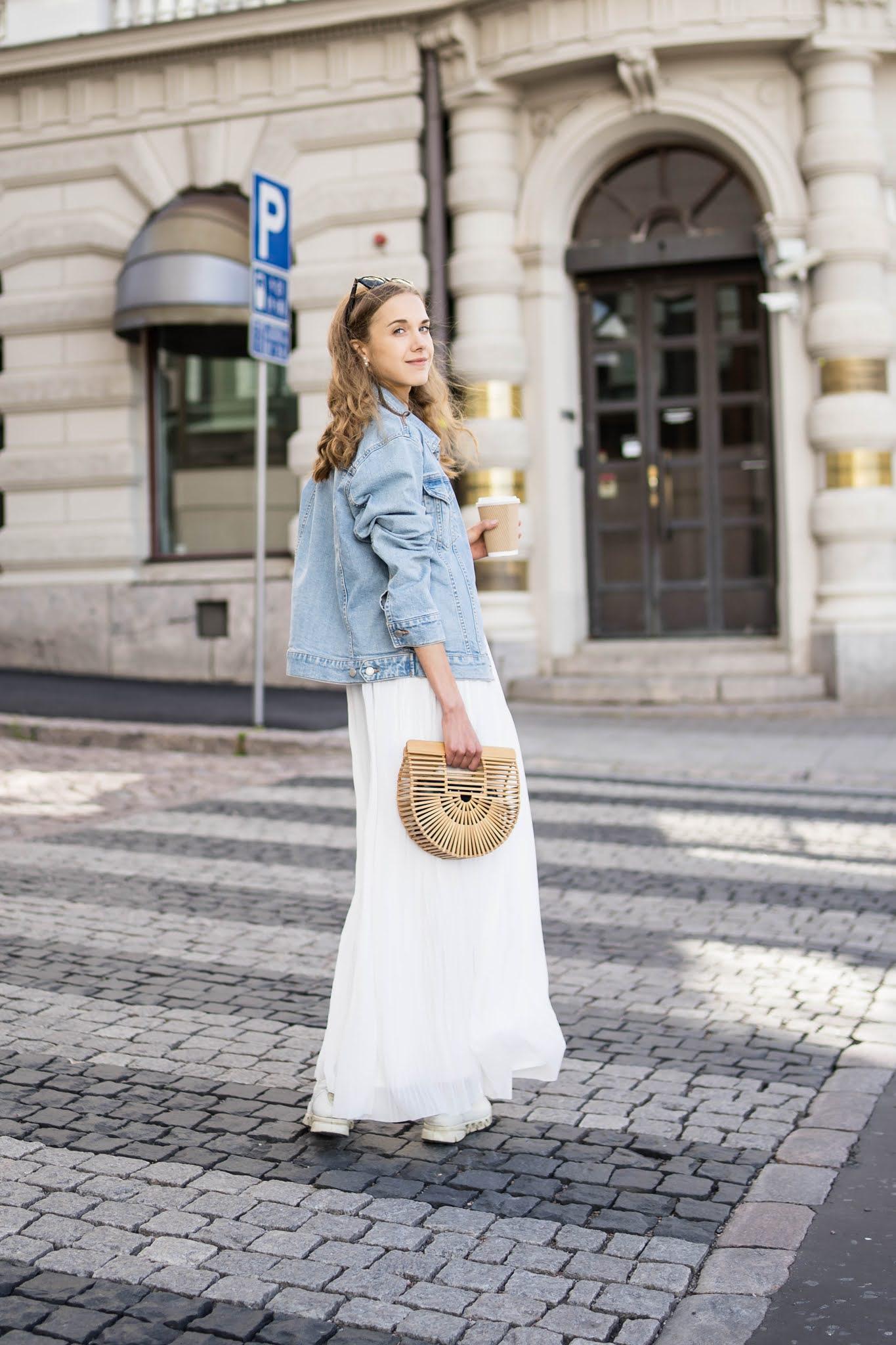 Fashion blogger summer street style - Muotibloggaaja, kesämuoti