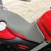 Tapizado de asiento de BMW F650GS con antideslizante