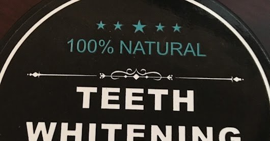Rock Ur Smile Activated Charcoal Teeth Whitening Powder - Natural Organic Toothpaste #Review #Ad