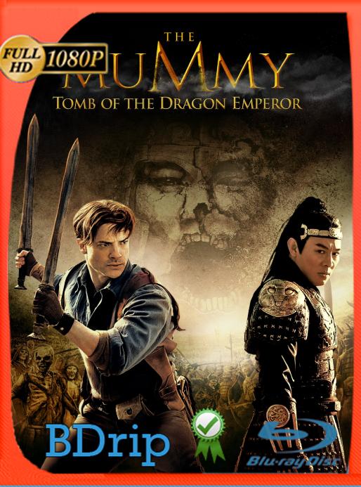 La Momia: La Tumba del Emperador Dragón (2008) BDRip 1080p Latino [GoogleDrive] Ivan092